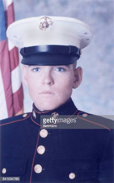 US Marine Lance Corporal Darwin Judge Marshalltown IA was one of two Marines killed 4/28 in a Communist attack on Tan Son Nhut airbase in Saigon as...