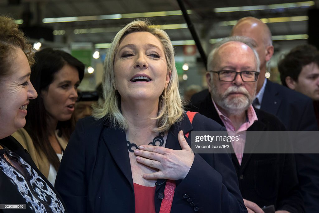 Marine Le Pen Attends The International Lepine Contest : News Photo