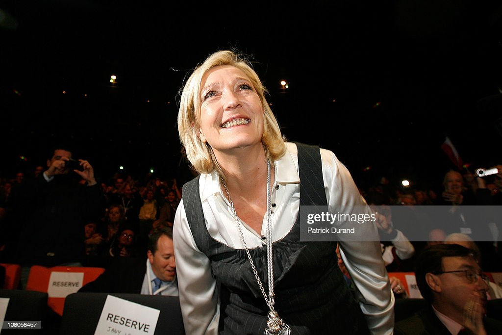Front National's Congress And New President Elections in Tours - Day 1