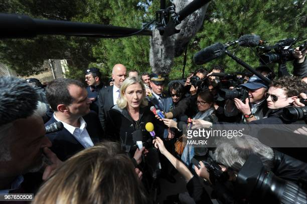 Marine Le Pen, the daughter of France's longtime far-right leader who now heads his National Front party, advocated turning migrants back to sea...