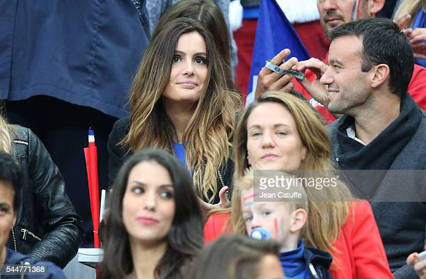 Marine Lloris attends the UEFA Euro 2016 quarter final match between France and Iceland at Stade de France on July 3 2016 in SaintDenis near Paris...