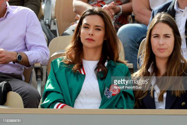 Marine Lorphelin attends the 2019 French Tennis Open Day Five at Roland Garros on May 30 2019 in Paris France