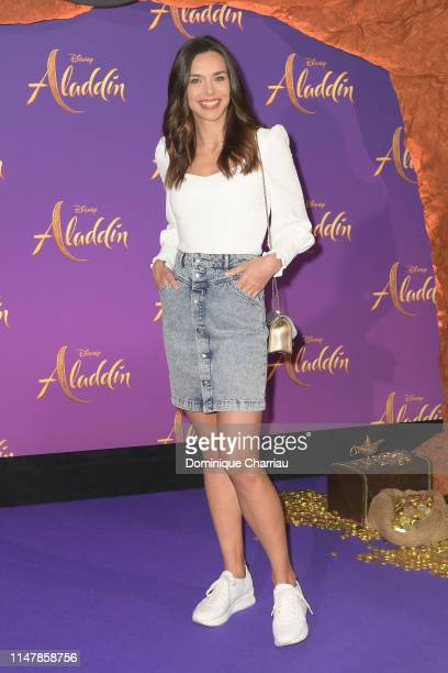 "Marine Lorphelin attends the ""Aladdin"" Paris Gala Screening at Cinema Le Grand Rex on May 08 2019 in Paris France"