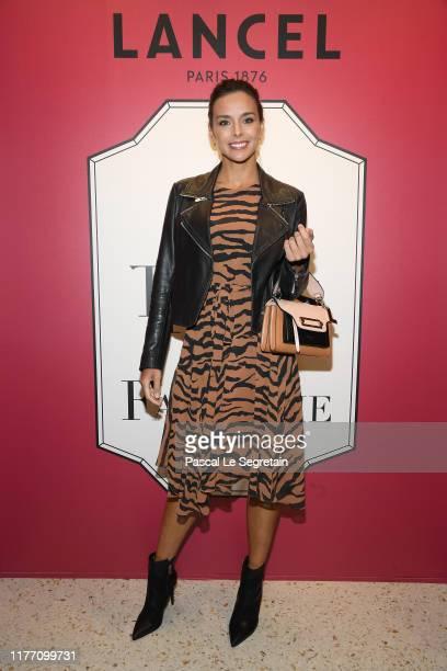 "Marine Lorphelin attends the Lancel 'Portraits De Fantaisie"" cocktail event during Paris Fashion Week, Womenswear Spring Summer 2020, on September..."