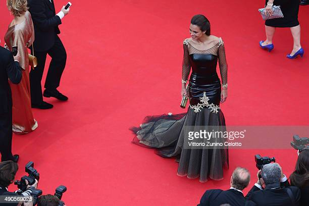 Marine Lorphelin attends the Opening ceremony and the Grace of Monaco Premiere during the 67th Annual Cannes Film Festival on May 14 2014 in Cannes...