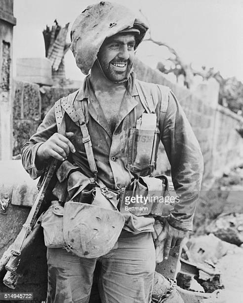 Marine on Okinawa 1945
