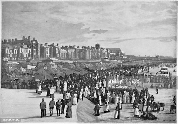 Marine Park, Southport', circa 1896. From Pictorial England and Wales. [Cassell and Company, Limited, London, Paris & Melbourne, circa 1896]. Artist...