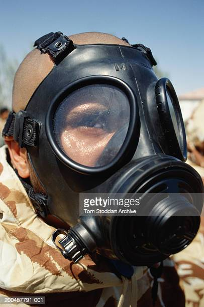 Gasmask terror chemical warfare nuclear holocaust