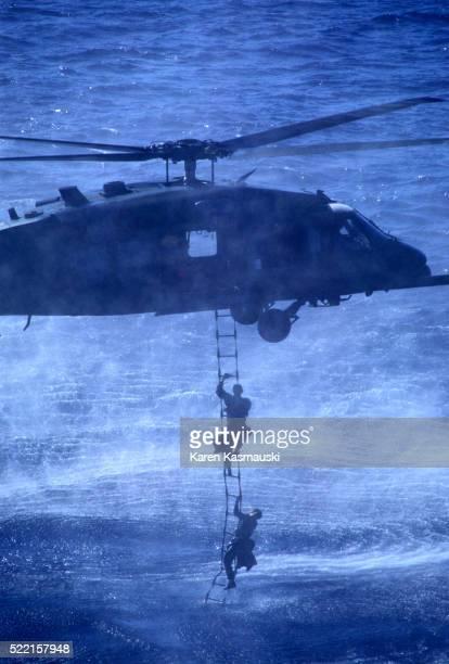 Marine Sea Rescue Squad Drilling