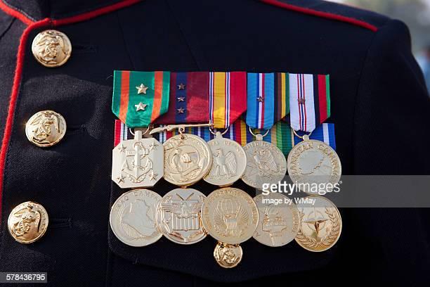 U.S. Marine service medals