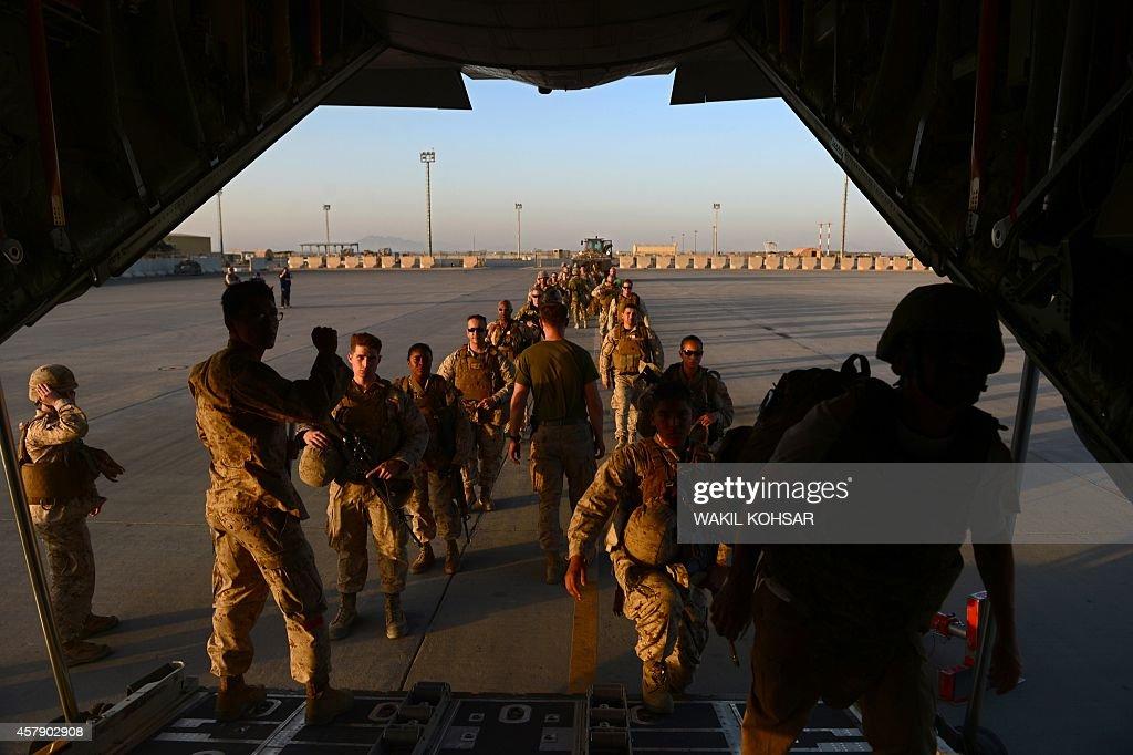 AFGHANISTAN-US-BRITAIN-MILITARY-UNREST : Foto di attualità