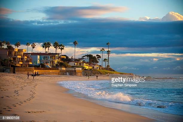marine street beach, summer sky - サンディエゴ ストックフォトと画像