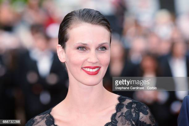 Marine Vacth attends 'Amant Double ' Red Carpet Arrivals during the 70th annual Cannes Film Festival at Palais des Festivals on May 26 2017 in Cannes...