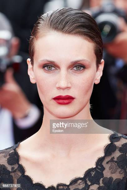 Marine Vacth attends the 'Amant Double ' screening during the 70th annual Cannes Film Festival at Palais des Festivals on May 26 2017 in Cannes France