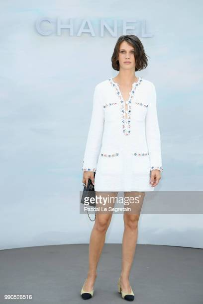 Marine Vacth attends the Chanel Haute Couture Fall Winter 2018/2019 show as part of Paris Fashion Week on July 3 2018 in Paris France