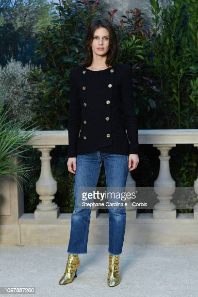 Marine Vacth attends the Chanel Haute Couture Spring Summer 2019 show as part of Paris Fashion Week on January 22 2019 in Paris France