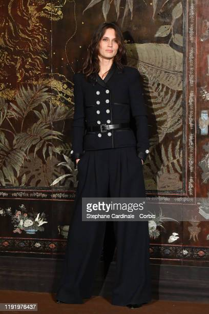 Marine Vacth attends the Front Row of the Chanel Metiers d'art 20192020 show at Le Grand Palais on December 04 2019 in Paris France
