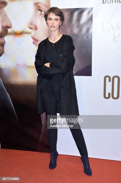 Marine Vacth attends the 'La Confession' Paris premiere at UGC Cine Cite des Halles on March 2 2017 in Paris France