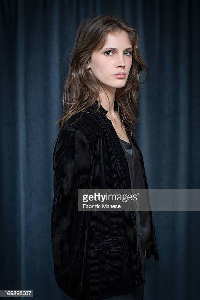 Marine Vacth is photographed for The Hollywood Reporter on May 20 2013 in Cannes France