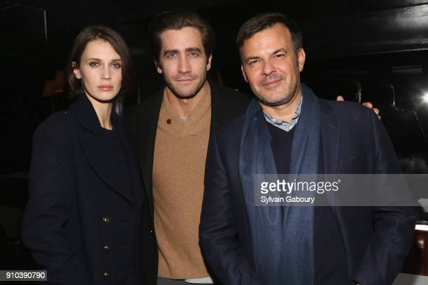 Marine Vacth Jake Gyllenhaal and Francois Ozon attend Cohen Media Group with The Cinema Society host the after party for 'Double Lover' at Omar's on...