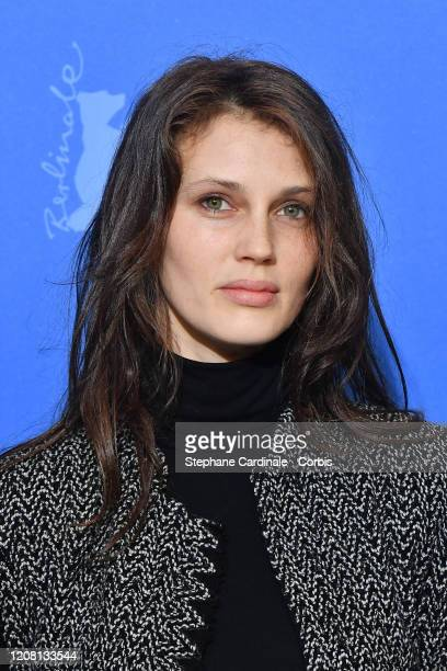 """Marine Vacth poses at the """"Pinocchio"""" photo call during the 70th Berlinale International Film Festival Berlin at Grand Hyatt Hotel on February 23,..."""