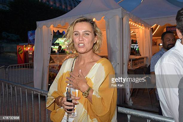 Marine Vignes attends 'Fete des Tuileries' Launch Party To Benefit Meghanora Association on June 26 2015 in Paris France