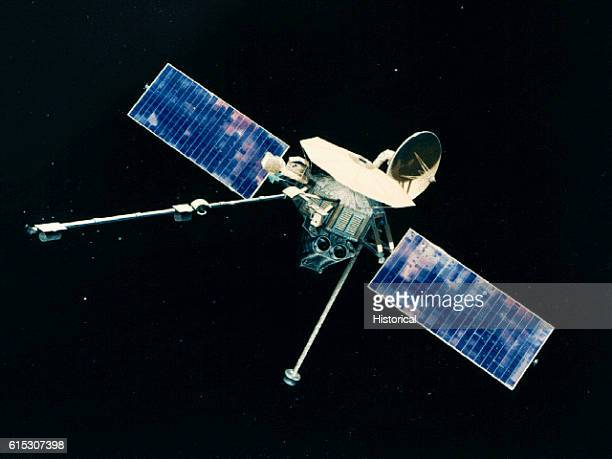 Mariner 10 an interplanetary space probe that was launched in November of 1973 It investigated the physical characteristics of Venus and Mercury It...