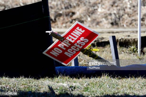 Mariner East 2 pipeline construction site along a residential neighborhood in West Chester PA on March 13 2019 This week Pennsylvania state attorney...