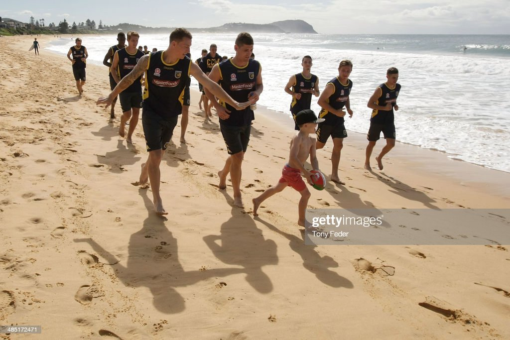 Central Coast Mariners Recovery Session