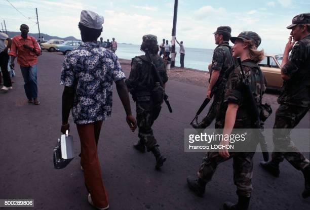 Marines américains en novembre 1983 en Grenade