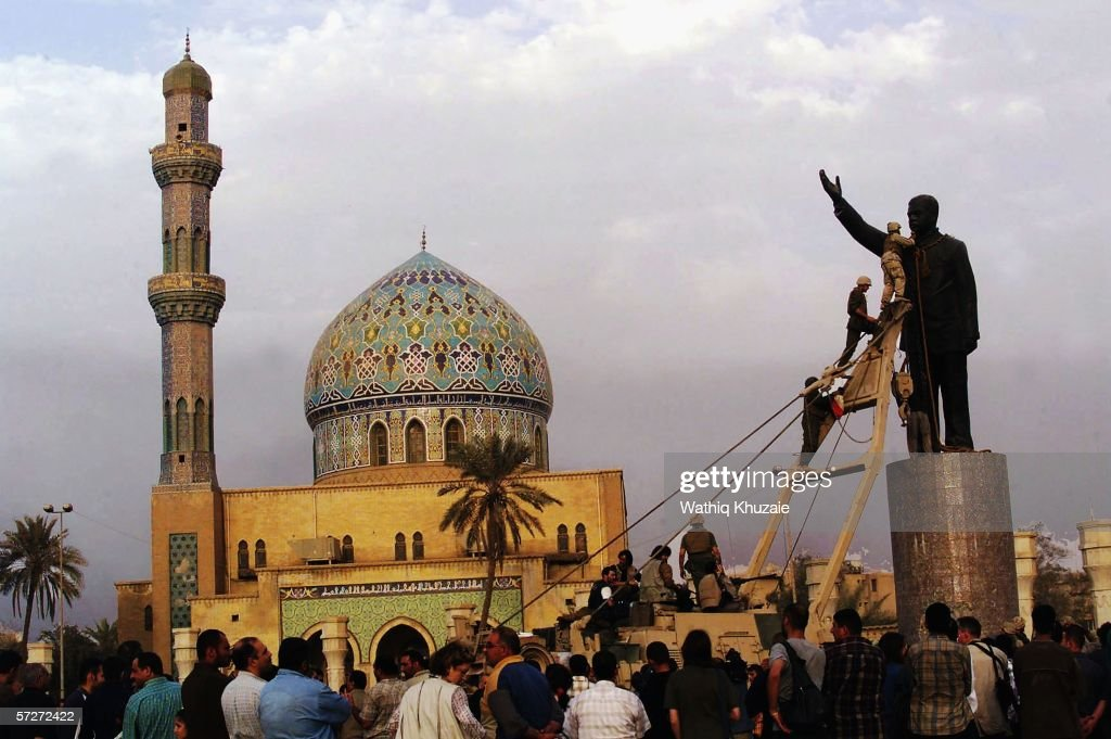 (FILE) The Third Anniversary Of The Fall Of Baghdad : ニュース写真