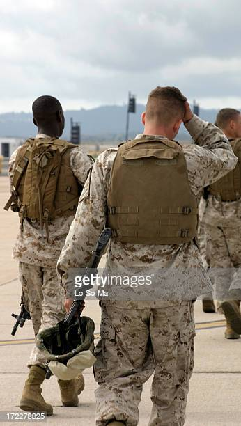 Marines coming back home
