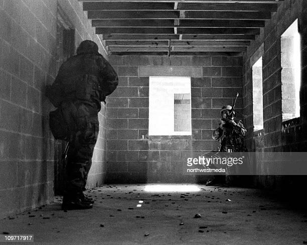 Marines in Building