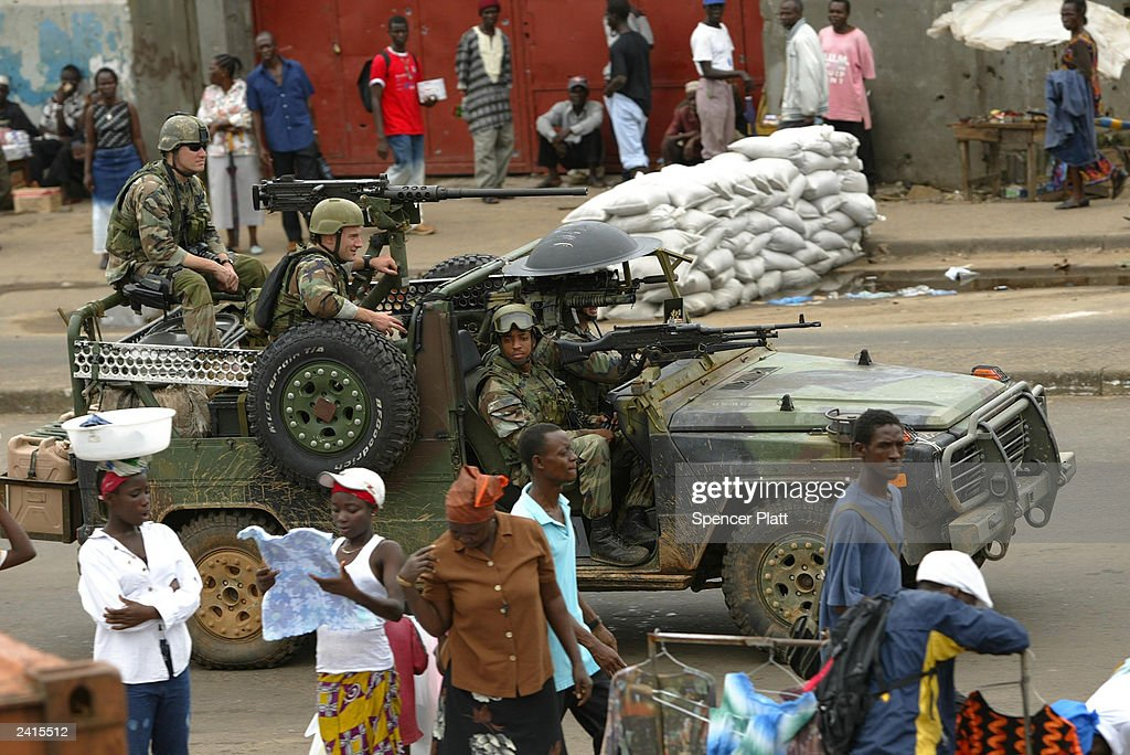 Tentative Peace Holds In Liberia Pictures Getty Images