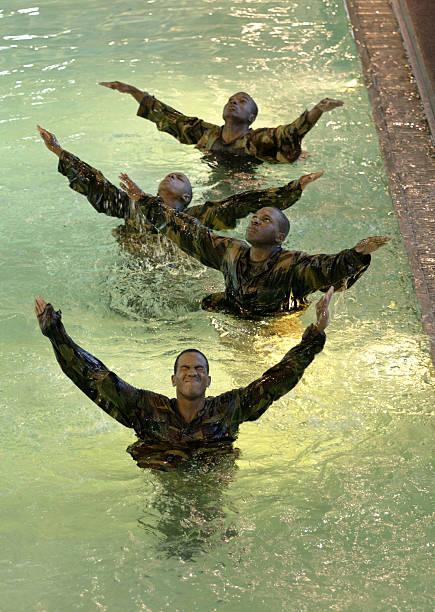 U.S. Marines Recruits Train At Parris Island