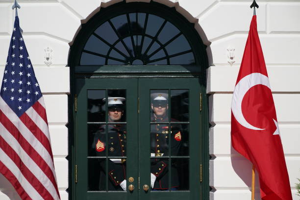 DC: Donald Trump Welcomes Turkish President Recep Tayyip Erdogan To The White House