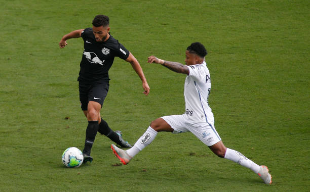 BRA: Santos v Red Bull Bragantino Play Behind Closed Doors the First Round of the 2020 Brasileirao Series A Amidst the Coronavirus (COVID - 19) Pandemic