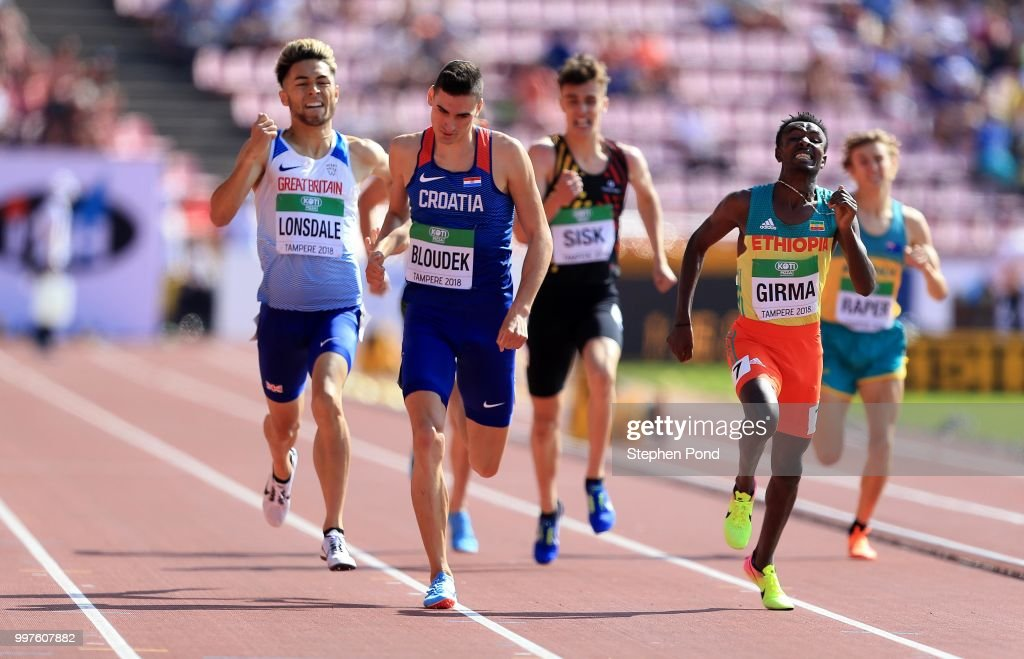 IAAF World U20 Championships - Day 4 : News Photo