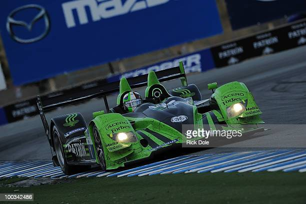 Marino Franchiit of Scotland drives the Patron Highcroft Racing HPD during the American Le Mans Series Monterey at Mazda Raceway Laguna Seca on May...