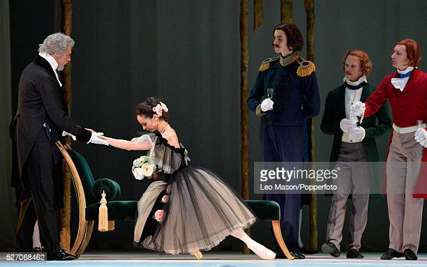 Marinsky Ballet Company at The Royal Opera House Covent Garden UK Marguerite and Armand Marguerite Diana Vishneva plus artists of the Ballet