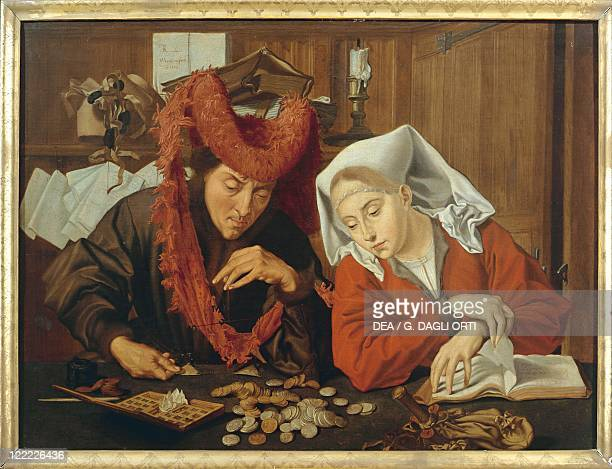 Marinus van Reymerswaele The Moneychanger and his Wife
