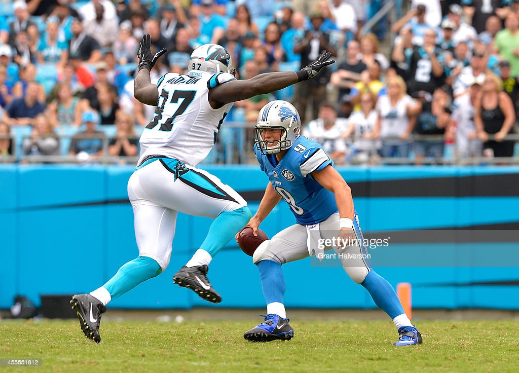 Detroit Lions v Carolina Panthers : News Photo