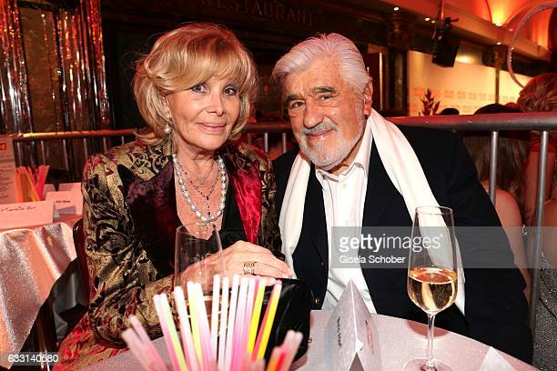 Mario Adorf and his wife Monique Adorf during the Lambertz Monday Night 2017 at Alter Wartesaal on January 30 2017 in Cologne Germany