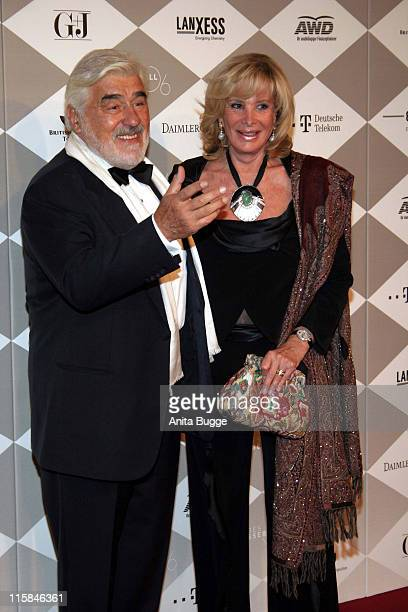 Mario Adorf and Monique Adorf during Bundespresseball Berlin November 24 2006 at Hotel InterContinental in Berlin Berlin Germany