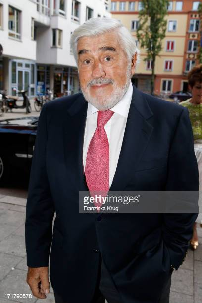 Mario Adorf attends the opening of the 'Munich Film Festival 2013' at the Mathaeser Cinema on June 28 2013 in Munich Germany