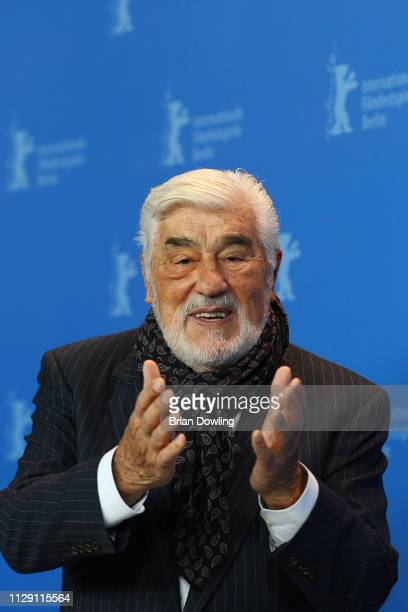 Mario Adorf poses at the It Could Have Been Worse – Mario Adorf photocall during the 69th Berlinale International Film Festival Berlin at Grand Hyatt...