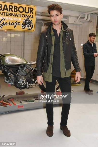 Mario Alonso attends the Barbour International presentation during the London Fashion Week Men's June 2017 collections on June 9 2017 in London...