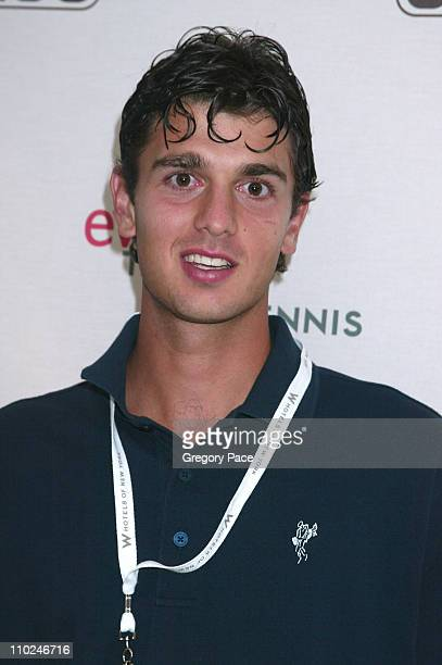 Mario Ancic during Andre Agassi and Andy Roddick Hosts the 6th Annual ''Evian Taste of Tennis'' at W New York Hotel in New York City New York United...