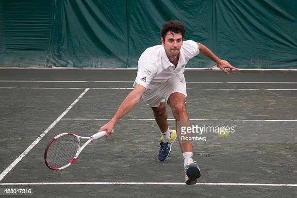 Mario Ancic former professional tennis player and employee of the leveraged finance group at the investmentbanking division of Credit Suisse Group AG...