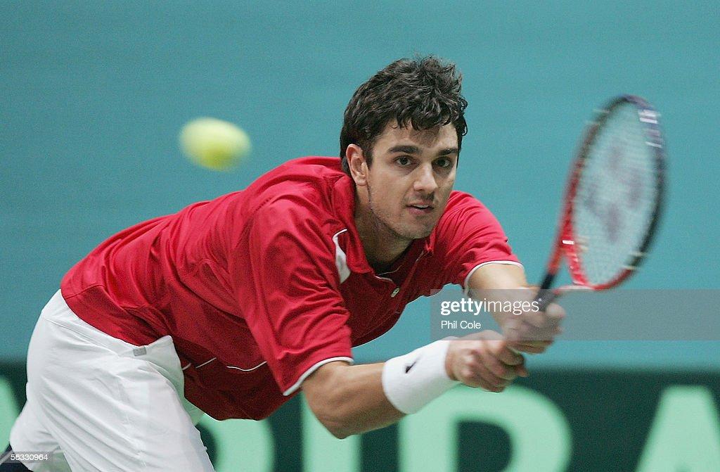 Davis Cup by BNP Paribas - World Group Final: Slovakia v Croatia : News Photo
